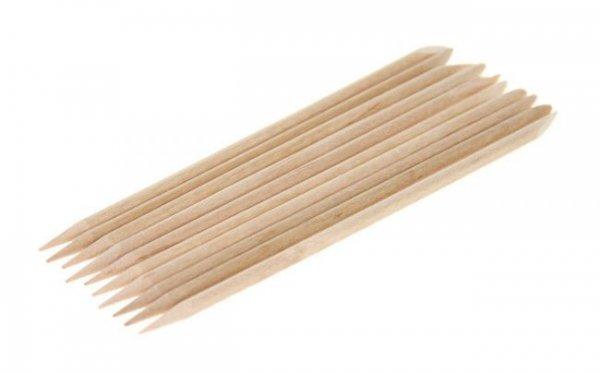 PATYCZKI drewniane krótkie do manicure - 10 szt