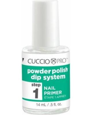 Manicure tytanowy zestaw płynów kroki 1 - 6 - Cuccio DIP