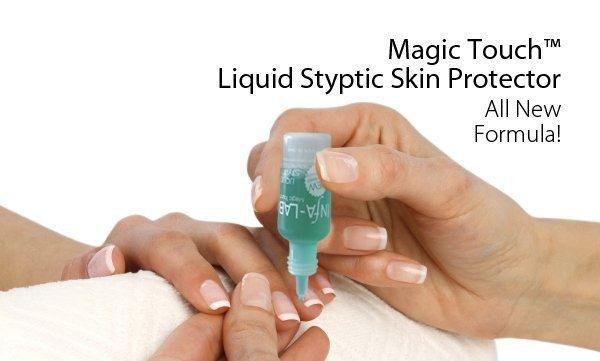 zatrzymać krwawienie podczas manicure płyn
