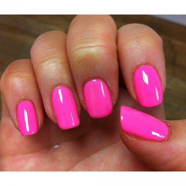 Lakier hybrydowy kolor: Make you Blink Pink (1110181) GELISH