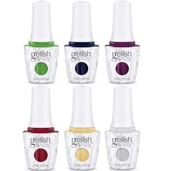 GELISH Plum Thing Magic (1110275) Little Miss Nutcracker - lakier hybrydowy 15ml NOWOŚĆ