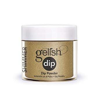 Puder do manicure tytanowego - GELISH DIP - give me gold 23g (1610075)
