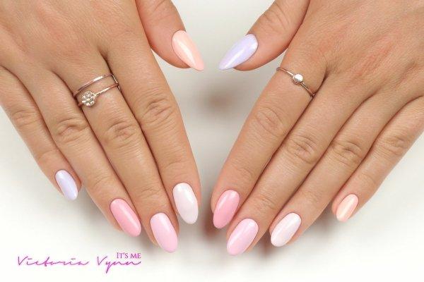 Lakier hybrydowy Pink Twice 8 ml (198) Victoria Vynn - pastelowe