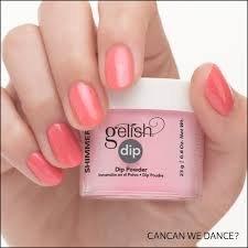 Puder do manicure tytanowego - GELISH DIP -  Cancan We Dance  23g (1610176)