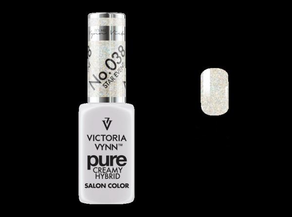 038 Star Event - kremowy lakier hybrydowy Victoria Vynn PURE (8ml)