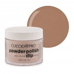 Puder manicure tytanowy - CUCCIO DIP - Amaretto Cream Tan 14 G (5573)