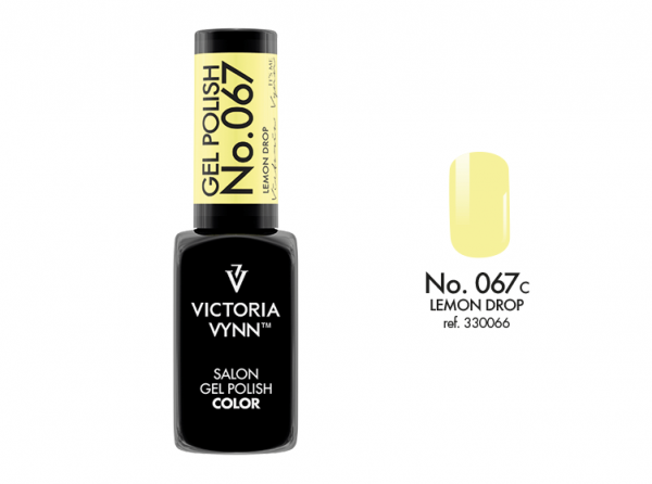 067 Lemon Drop Lakier Hybrydowy Victoria Vynn Gel Polish