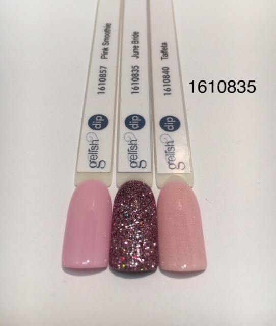 Puder do manicure tytanowy - GELISH DIP - June Bride 23 g - (1610835)