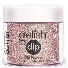Puder do manicure tytanowego - GELISH DIP - Sweet 16  23 g - (1610957)
