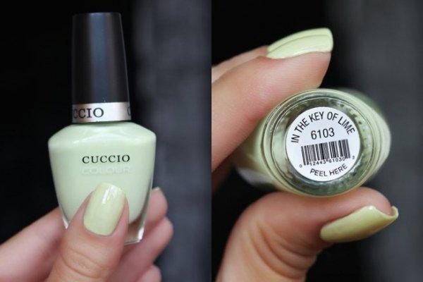 Cuccio 6013 Lakier do paznokci 13 ml In the Key  of Lime