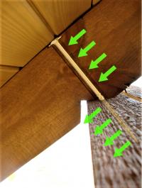 Wkręty ciesielskie 8x120 mm talerzowe - 50 szt