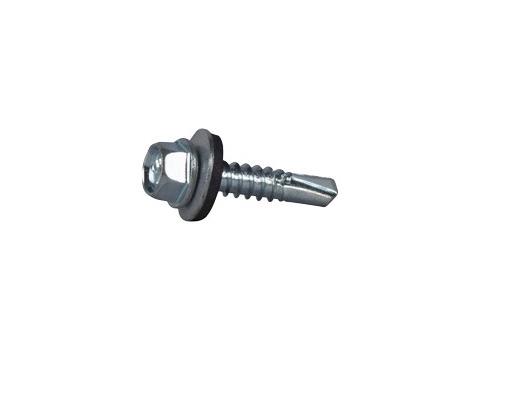 Wkręty samowiercące do metalu impax 4,8x19 ocynk - op 250 szt
