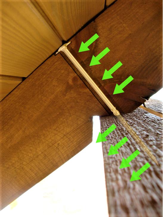 Wkręty ciesielskie 8x360 mm talerzowe - 50 szt