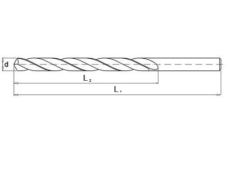 Wiertło do metalu 10,0 mm NWKa HHS BAILDON