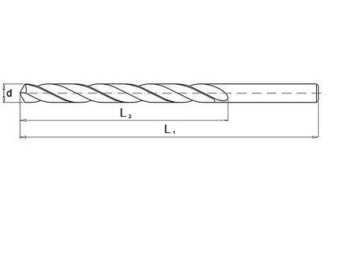 Wiertło do metalu 1,0 mm NWKa HHS BAILDON