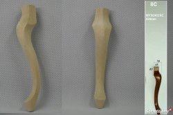 Noga drewniana do mebli 8c