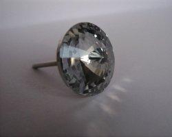 Gwoździe tapicerskie kryształ fi 18mm