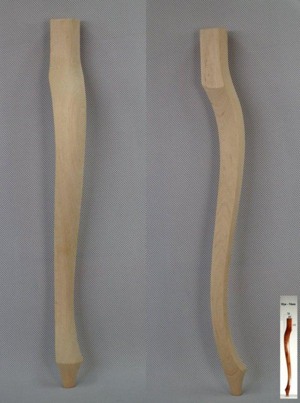 Noga drewniana do mebli 5-B