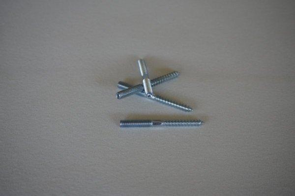 Śruba mocująca do nóżek meblowych 8x80mm