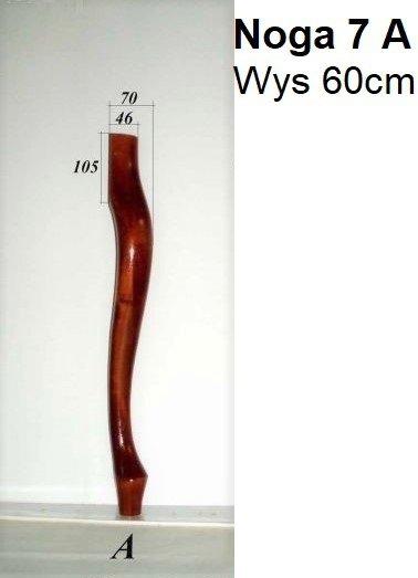 Noga drewniana do mebli 7 A