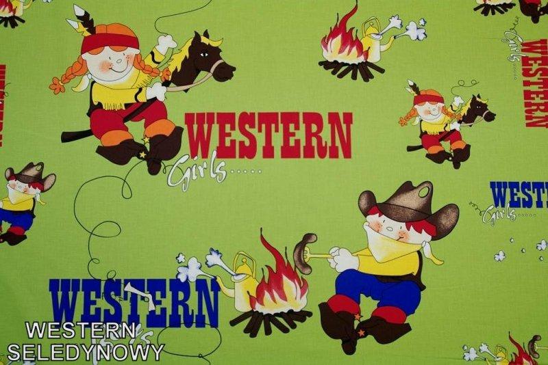 Western seledynowy