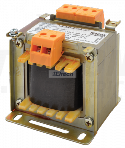 Zwykły transformator jednofazowy 230V / 12-24-42V, max.100VA TVTR-100-C