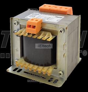 Zwykły transformator jednofazowy 230V / 42-110-230V, max.400VA TVTR-400-E