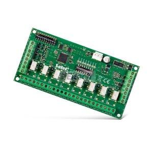 Ekspander 8 wyjść (OC / przekaźnik - konfiguracja za pomocą przełącznika typu DIP Switch) PERFECTA INT-O Satel