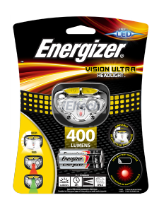 LATARKA ENERGIZER VISION ULTRA HEADLIGHT400lm 3AAA