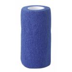 Samonośny bandaż EquiLastic, 5 cm, niebieski