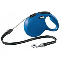 Smycz sznurkowa niebieska do 12 kg, dł. 5 m