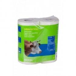 Papier do higieny wymion Uddero Clean 2x200 listków 23 x 24 cm,