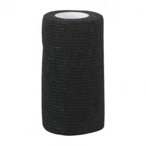 Samonośny bandaż EquiLastic, 5 cm, czarny