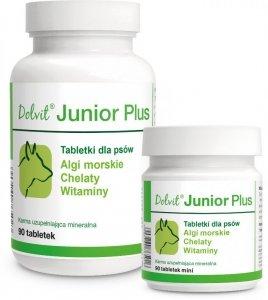 Dolvit Junior Plus - Algi morskie, chelaty, witaminy dla szczeniąt i młodych psów
