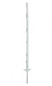 Palik 125 cm podw. stopka biały