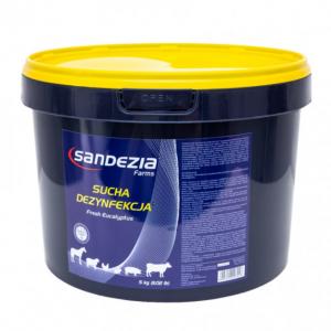 Preparat do suchej dezynfekcji SANDEZIA, 5 kg
