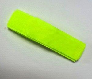 Opaska identyfikacyjna - żółty fluo