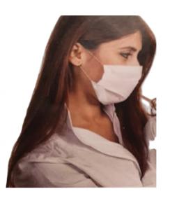 Maska ochronna, trójwarstwowa