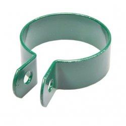 Obejma końcowa 1 otwór fi42 - zielona