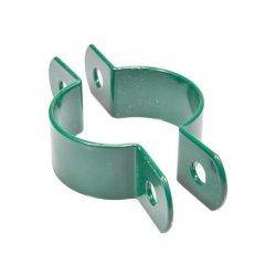 Obejma pośrednia 1 otwór fi60 - zielona - 25 sztuk