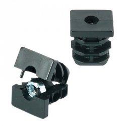 Wkładka z gwintem metalowym 30x30mm M8 ść.1,5-2,0 - 50 sztuk