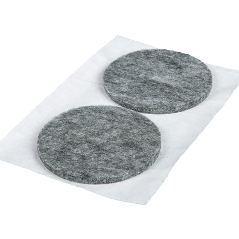 Podkładki filcowe okrągłe 70mm - 2 sztuk