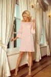 Elegancka-sukienka-S-XL-Model-Margaret-190-1-Pastel-Pink-na-wesele-chrzest-przod