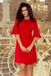 Elegancka sukienka S-XL NEVA 217-1 Red