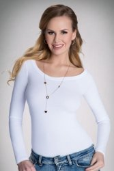 Bluzka Model Petra Active White
