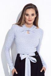 Bluzka damska z długim rękawem 247 Grey