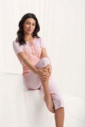 Piżama Damska Model Emily 567 Morela