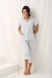 Piżama Damska Model Brenda 573 Grey