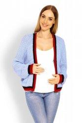 Sweter Ciążowy Model 60004C Sky Blue