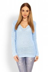 Sweter Damski Model 40006 Sky Blue